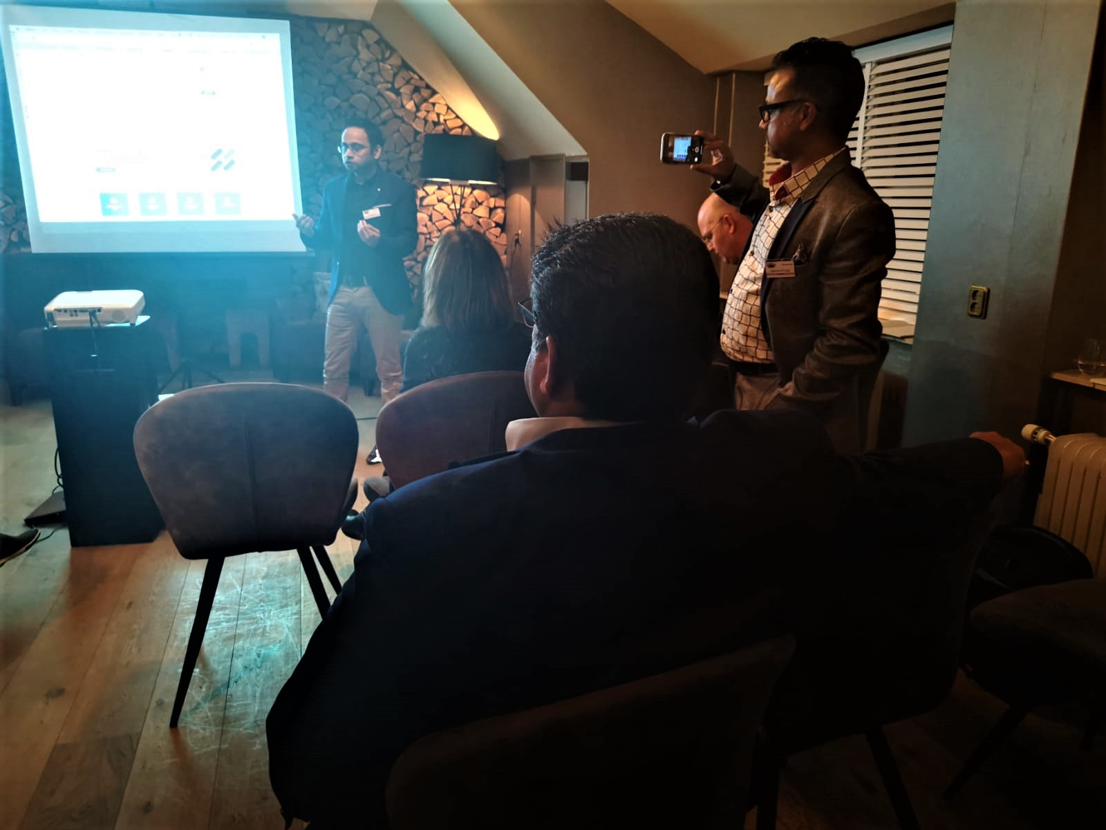 Quantamix Solutions was invited by  International Millionaire Network Amsterdam