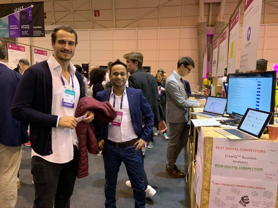 Great launch at WebSummit, Lisbon