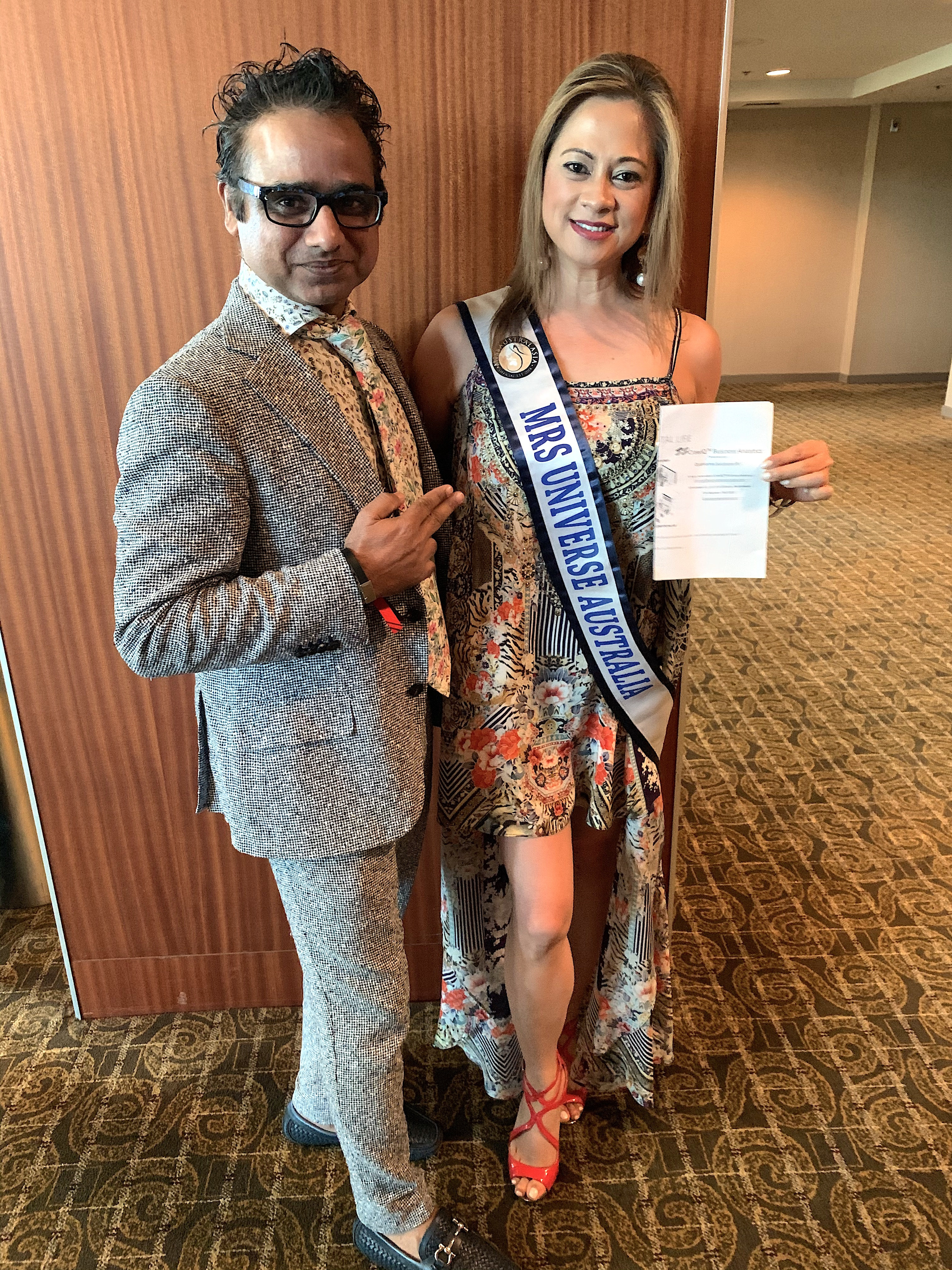 Great Traction at Mega Success JT Foxx Event California USA, Save Celebrity Reputation Mrs Australia Gliselle Santos Ramos